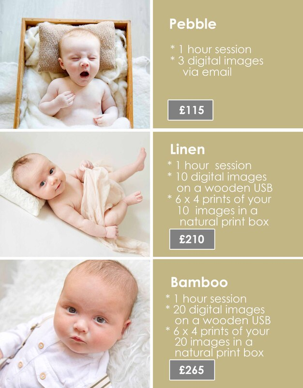 Samantha Prewett Photography Baby Prices