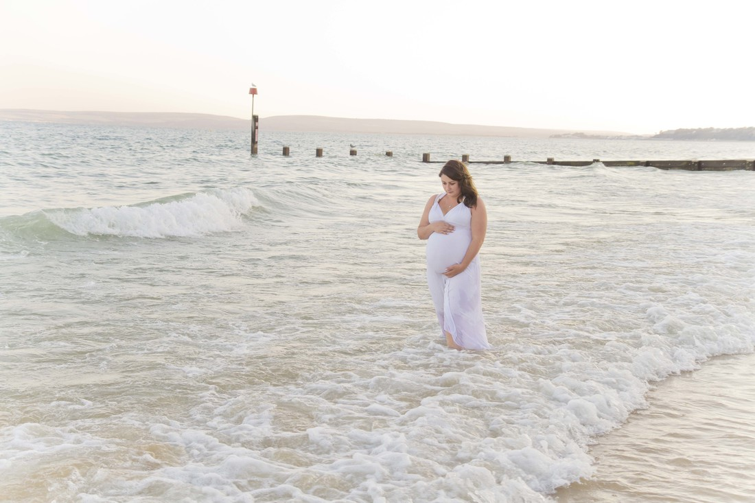 Maternity Photography Bournemouth Pier